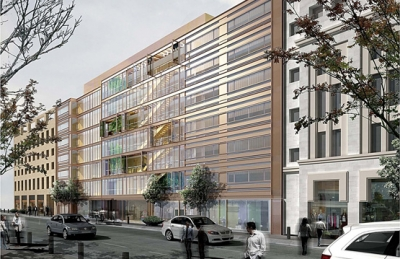 French avenue for Office design hamra